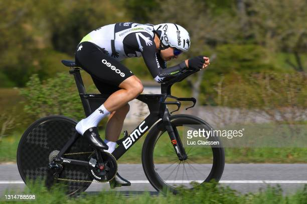 Harry Tanfield of United Kingdom and Team Qhubeka Assos during the 74th Tour De Romandie 2021, Prologue a 4,05km Individual Time Trial stage from...