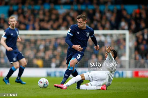 Harry Toffolo of Huddersfield Town during the Sky Bet Championship match between Leeds United and Huddersfield Town at Elland Road on March 07 2020...