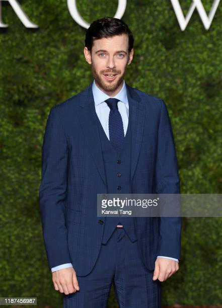 "Harry Treadaway attends ""The Crown"" Season 3 world premiere at The Curzon Mayfair on November 13, 2019 in London, England."
