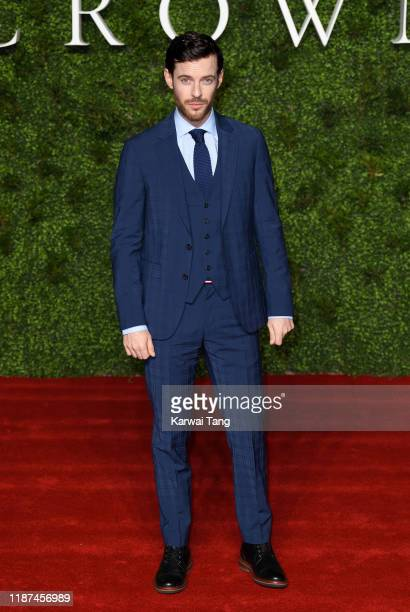 Harry Treadaway attends The Crown Season 3 world premiere at The Curzon Mayfair on November 13 2019 in London England