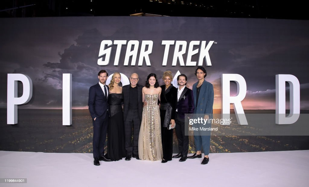 """Star Trek Picard"" UK Premiere - Red Carpet Arrivals : Nyhetsfoto"