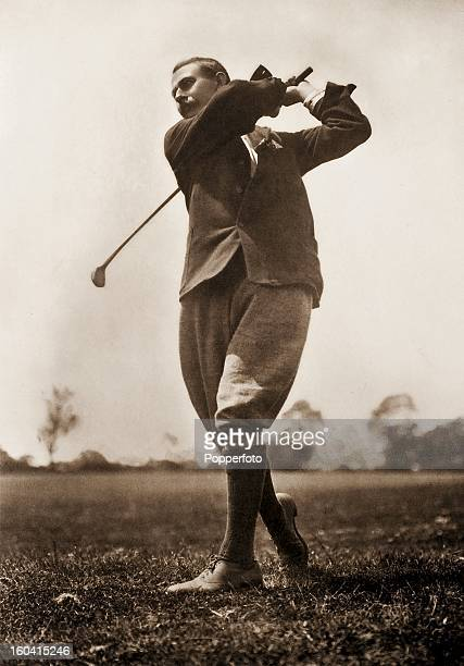 Harry Vardon professional golfer from Jersey circa 1905 He won The Open Championship a record six times and also won the US Open