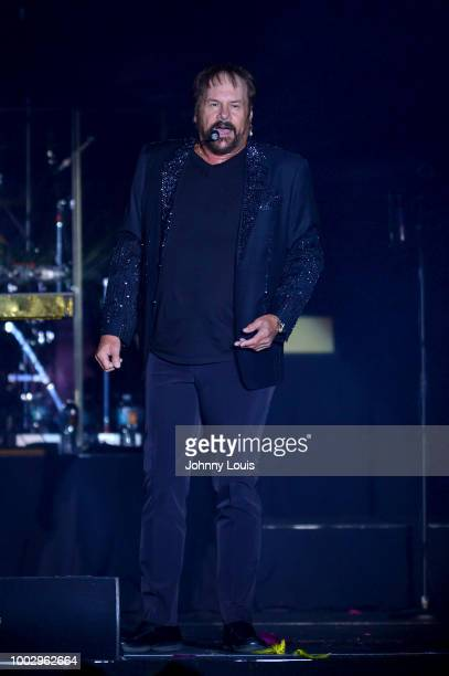 Harry Wayne Casey of KC and the Sunshine Band performs onstage at Hard Rock Event Center on July 20 2018 in Hollywood Florida