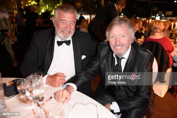Harry Wijnvoord and Werner Schulze Erdel attend the 'Goldene Sonne 2017' Award by SonnenklarTV on May 13 2017 in Kalkar Germany