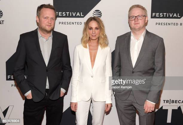 Harry Williams Joanne Froggatt and Jack Williams attend the Tribeca TV Festival series premiere of Liar at Cinepolis Chelsea on September 23 2017 in...