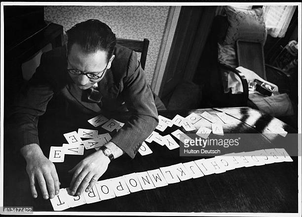 Harry Willmott, who had been blind for most of his life, is learning to read with the help of alphabet cards after an accident left him with sight in...