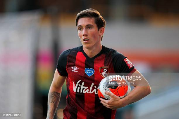 Harry Wilson of AFC Bournemouth looks on during the Premier League match between Wolverhampton Wanderers and AFC Bournemouth at Molineux on June 24...