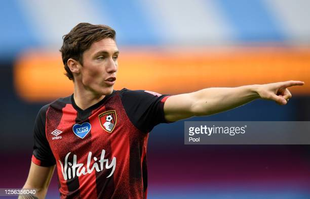 Harry Wilson of AFC Bournemouth looks on during the Premier League match between Manchester City and AFC Bournemouth at Etihad Stadium on July 15...