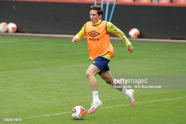Harry Wilson of Bournemouth during a training session at the Vitality Stadium on June 27 2020 in Bournemouth England