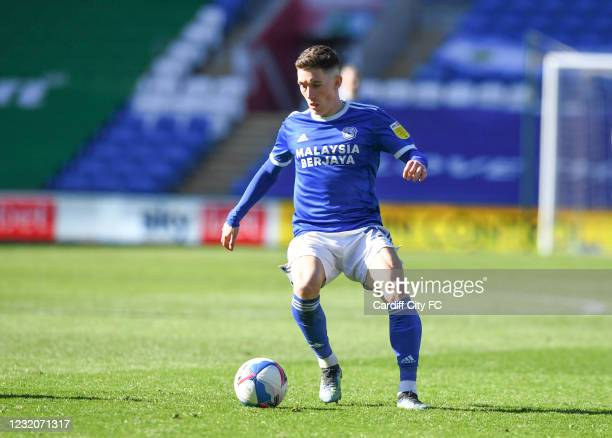 Harry Wilson of Cardiff City FC during the Sky Bet Championship match between Cardiff City and Nottingham Forest at Cardiff City Stadium on April 2,...