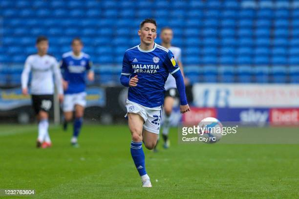 Harry Wilson of Cardiff City FC during the Sky Bet Championship match between Cardiff City and Rotherham United at Cardiff City Stadium on May 8,...