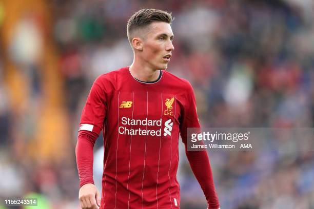 Harry Wilson of Liverpool during the PreSeason Friendly match between Tranmere Rovers and Liverpool at Prenton Park on July 11 2019 in Birkenhead...