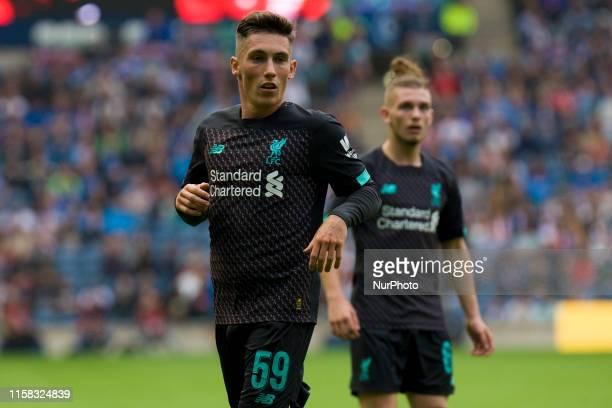 Harry Wilson of Liverpool during the pre-season friendly match between Liverpool and Napoli at BT Murrayfield on July 28, 2019 in Edinburgh, Scotland.