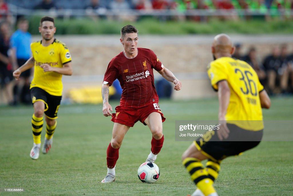 Borussia Dortmund v Liverpool - Pre-Season Friendly : Nachrichtenfoto