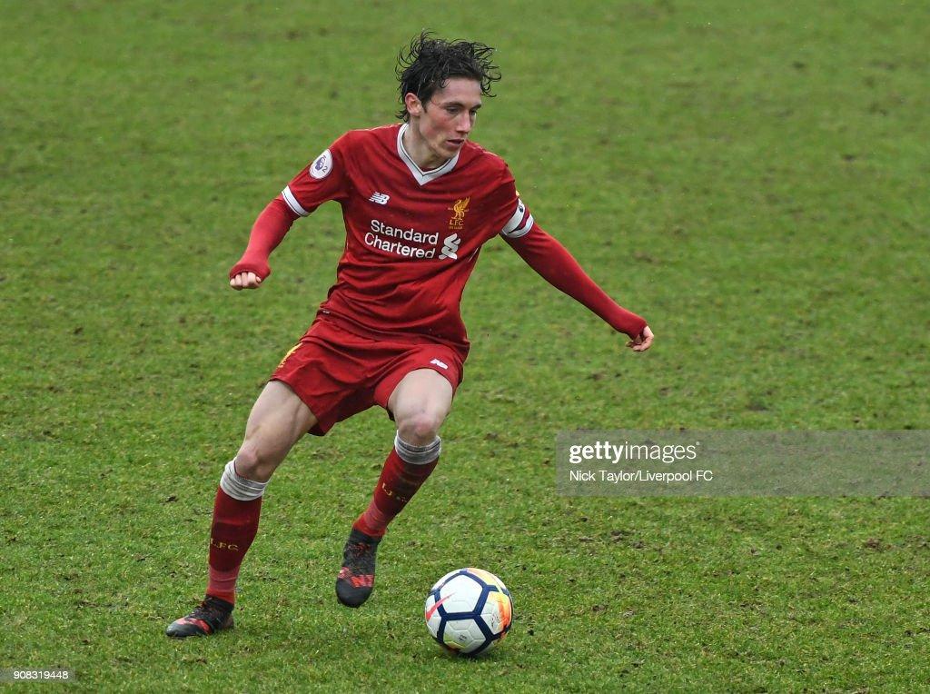 Liverpool U23 v Charlton Athletic U23 - Premier League Cup : News Photo
