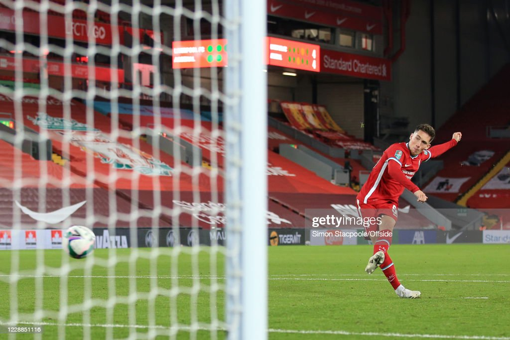 Liverpool v Arsenal - Carabao Cup Fourth Round : News Photo