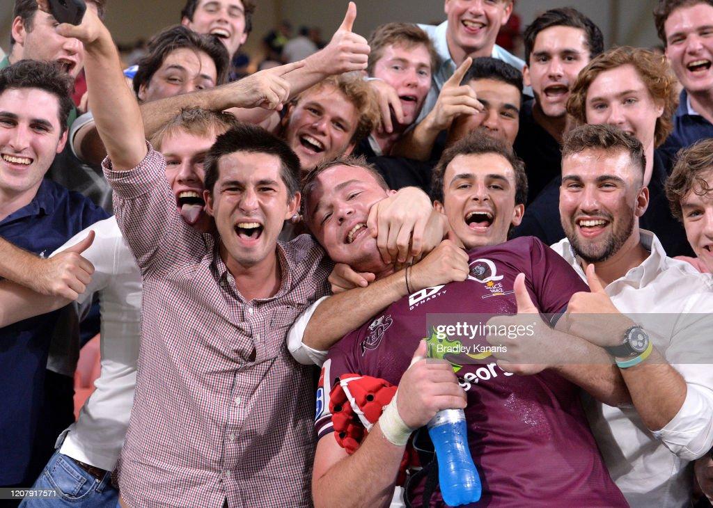Super Rugby Rd 4 - Reds v Sunwolves : Nyhetsfoto