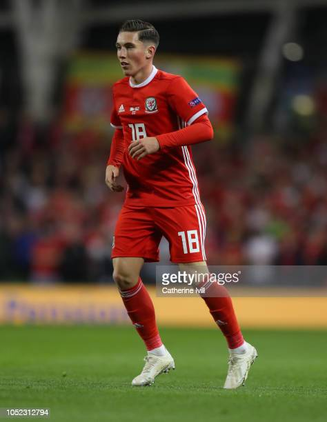 Harry Wilson of Wales during the UEFA Nations League B group four match between Ireland and Wales at Aviva Stadium on October 16 2018 in Dublin...
