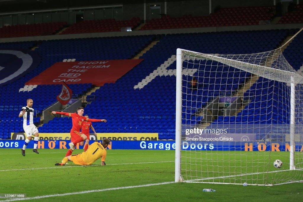 Wales v Finland - UEFA Nations League : Nachrichtenfoto
