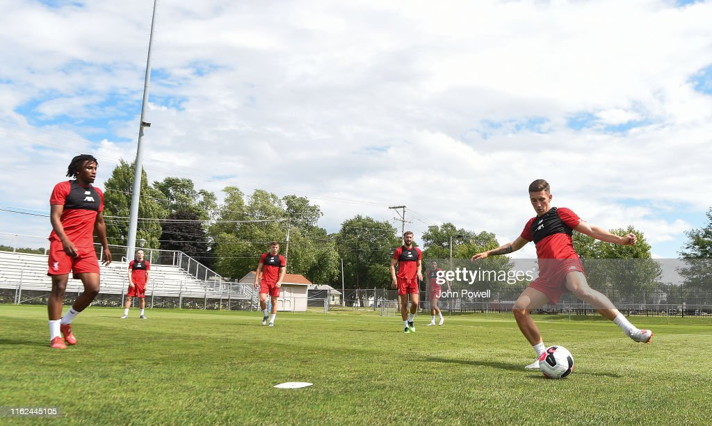 Liverpool Pre-Season Training Session : News Photo