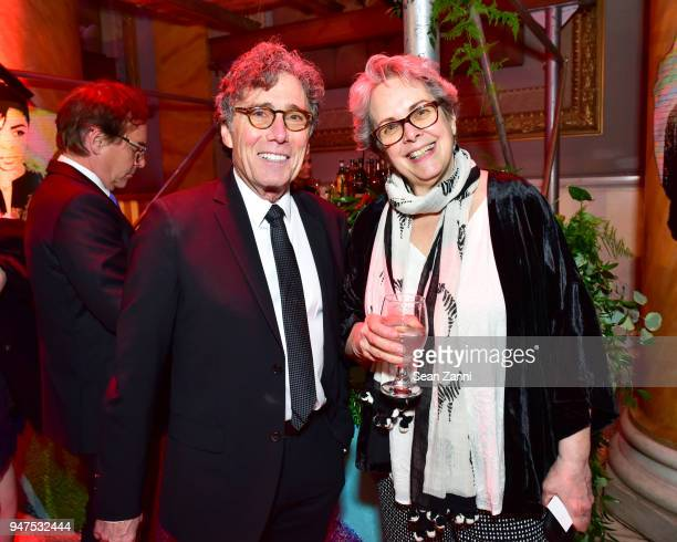 Harry Winer and Julie Sloane attend NYU Tisch School of the Arts GALA 2018 at Capitale on April 16 2018 in New York City