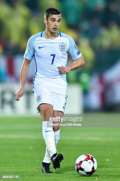 Harry Winks of England during the FIFA 2018 World Cup Qualifier between Lithuania and England on October 8 2017 in Vilnius Lithuania