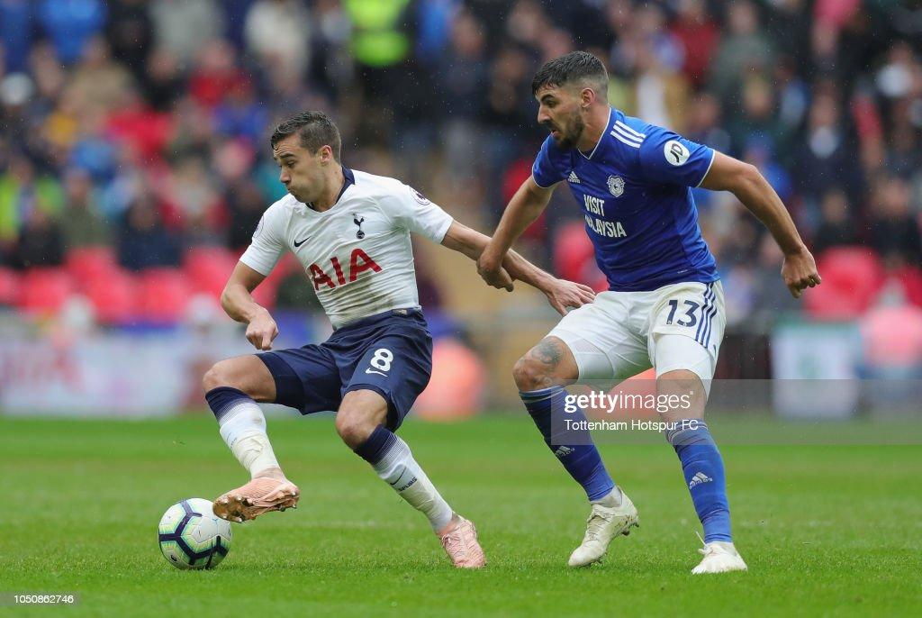 Tottenham Hotspur v Cardiff City - Premier League : News Photo