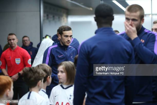 Harry Winks of Tottenham Hotspur during the FA Cup Fifth Round match between Tottenham Hotspur and Norwich City at Tottenham Hotspur Stadium on March...