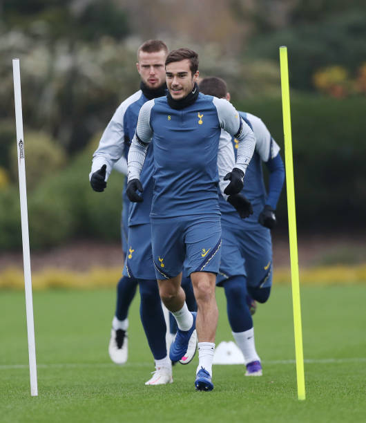 GBR: Tottenham Hotspur - Press Conference And Training Session