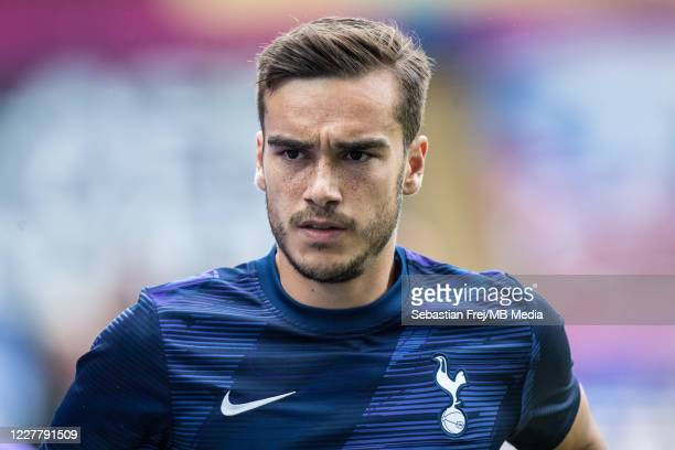 Harry Winks of Tottenham Hotspur looks on during the Premier League match between Crystal Palace and Tottenham Hotspur at Selhurst Park on July 26...