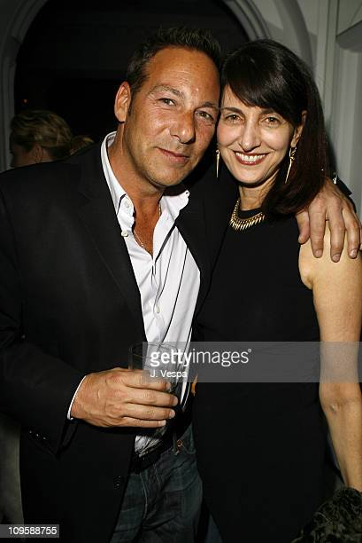 Harry Winterstern and Ruth Vitale during GQ Magazine Honors Golden Globe Nominees Benefiting American Cinematheque - Inside at GM Penthouse at the...