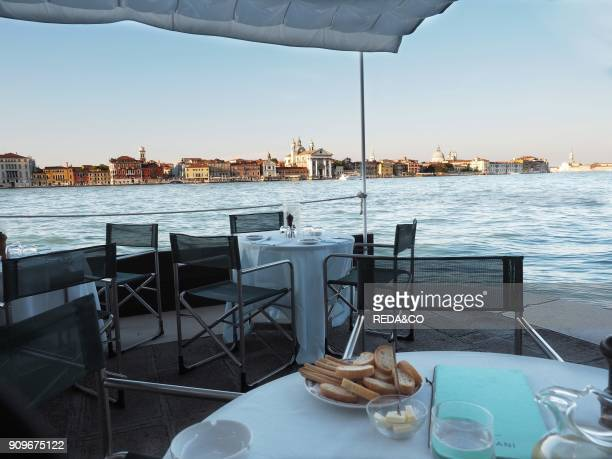 Harry's Dolci bar and restaurant Giudecca sestiere Venice Veneto Italy Europe