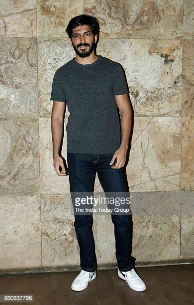 Harshvardhan Kapoor during the special screening of film Dangal in Mumbai