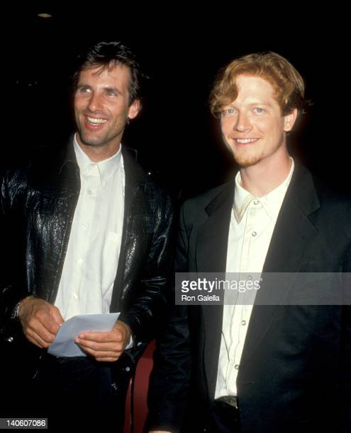 Hart Bochner and Eric Stoltz at the Greg Gorman's Birthday Party Tramp's Beverly Hills