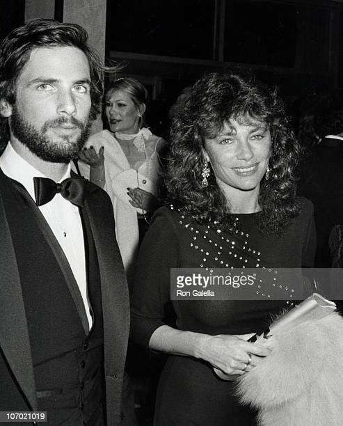 Hart Bochner and Jackie Bisset during American Film Institute Salute to Fred Astaire at Beverly Hilton Hotel in Beverly Hill California United States