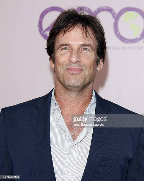 Hart Bochner attends the 20th Anniversary 2009 EMA Awards held on the backlot at Paramount Studios on October 25 2009 in Los Angeles California