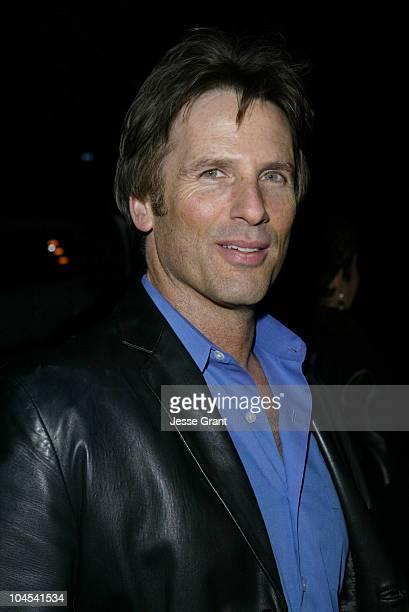 Hart Bochner during The CAA PreGolden Globes Party at The Buffalo Club in Santa Monica California United States