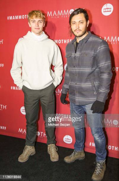 Hart Denton and Blair Redford arrive to 2nd Annual Mammoth Film Festival on February 07 2019 in Mammoth California