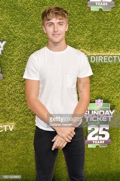 Hart Denton attends DIRECTV CELEBRATES 25th Season of NFL SUNDAY TICKET at Nomad Hotel Los Angeles on July 17 2018 in Los Angeles California
