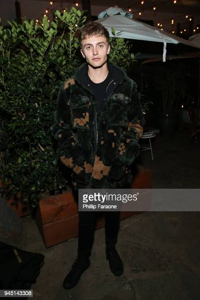 Hart Denton attends Flaunt and /Nyden Celebrate The New Fantasy Issue with a dinner honoring Hari Nef at The Hollywood Roosevelt Hotel on April 11...