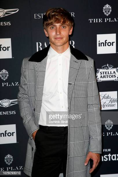 Hart Denton attends Harper's BAZAAR Celebrates 'ICONS By Carine Roitfeld' at The Plaza Hotel on September 7 2018 in New York City