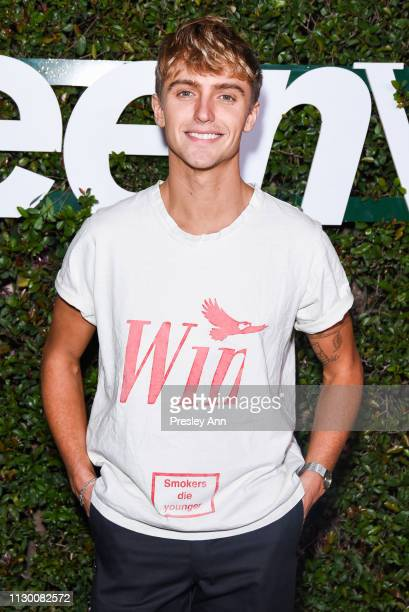Hart Denton attends Teen Vogue's 2019 Young Hollywood Party Presented By Snap at Los Angeles Theatre on February 15, 2019 in Los Angeles, California.