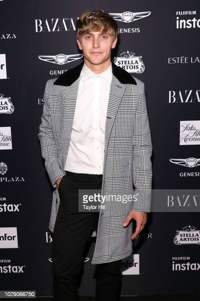 Hart Denton attends the 2018 Harper's BAZAAR ICONS Party at The Plaza Hotel on September 7 2018 in New York City