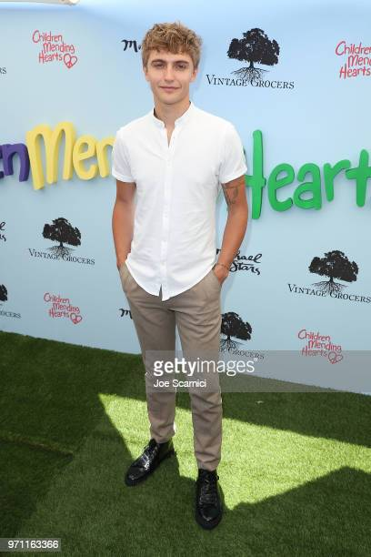Hart Denton attends the Children Mending Hearts' 10th Annual Empathy Rocks Fundraiser at Private Residence on June 10 2018 in Bel Air California