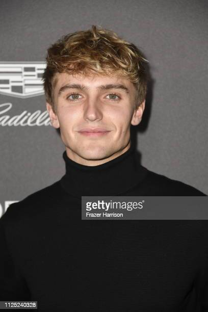Hart Denton attends the Entertainment Weekly PreSAG Party at Chateau Marmont on January 26 2019 in Los Angeles California