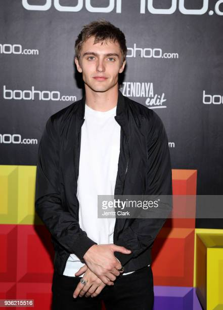 Hart Denton attends the launch of the boohoocom spring collection and the Zendaya Edit at The Highlight Room at the Dream Hollywood on March 21 2018...