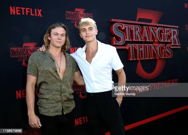 Hart Denton attends the Stranger Things Season 3 World Premiere on June 28 2019 in Santa Monica California