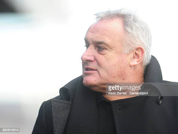 Hartlepool United manager Dave Jones during the Sky Bet League Two match between Newport County and Hartlepool United at Rodney Parade on January 28...