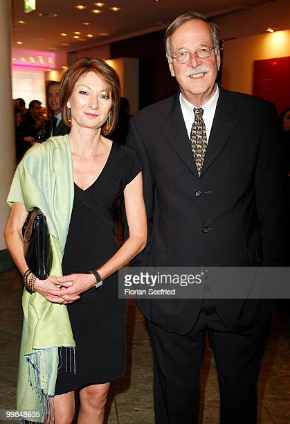 Hartmann von der Tann and wife Andrea attend the 'Liberty Award 2010' at the Grand Hyatt hotel on May 17 2010 in Berlin Germany