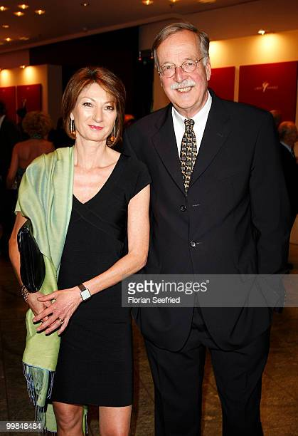 Hartmann von der Tann and wife Andrea attends the 'Liberty Award 2010' at the Grand Hyatt hotel on May 17 2010 in Berlin Germany